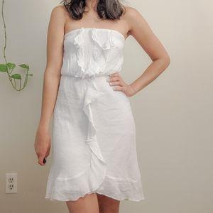 3 for $35 | Strapless White Dress